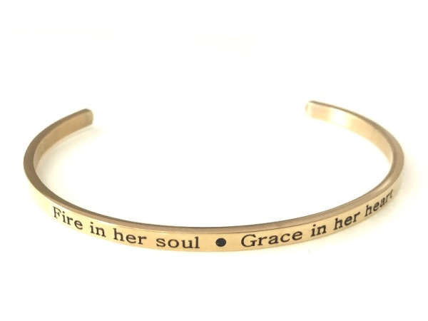 """Fire & Grace"" Bracelet"