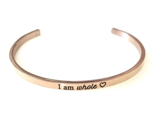 """""""I am whole"""" Bracelet"""