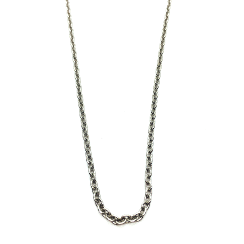 Short O-So-Pretty Chain (Silver)