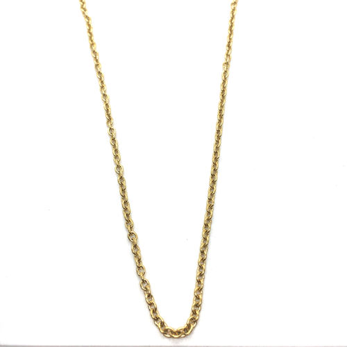 Short O-So-Pretty Chain (Classic Gold)
