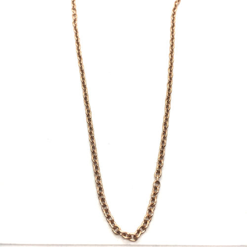 Short O-So-Pretty Chain (Rose Gold)