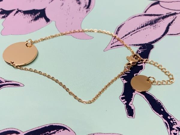 Dainty Petites Rose Gold Bracelet