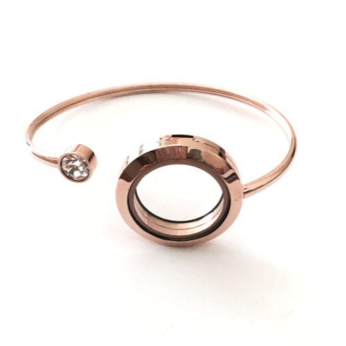 Rosegold Flexi Cuff Bangle