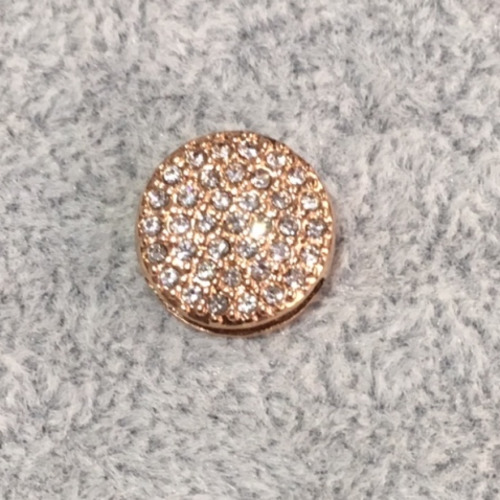 EmBrace Slide-On Charm: Rose Gold Diamante Cluster