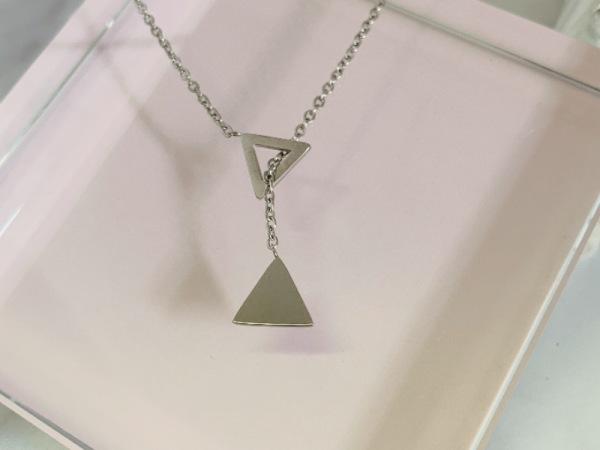 Tora Grace TRI Reminders Necklace-Silver