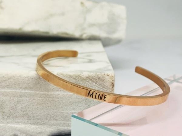 """MINE""- Samsara Bracelet"