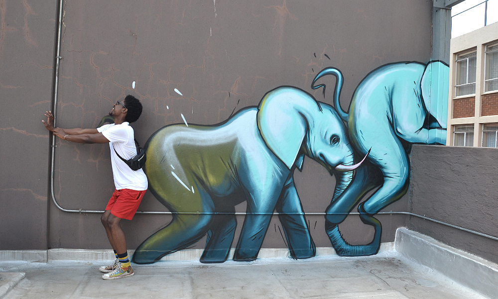 Street art in South Africa