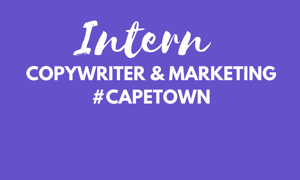 Copywriter and marketing intern