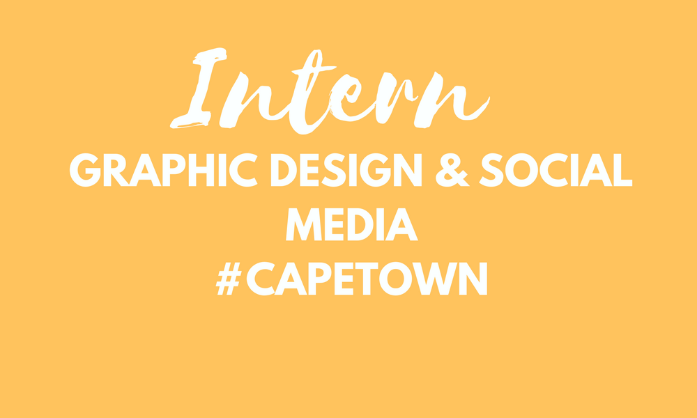 Graphic design and social media marketing intern