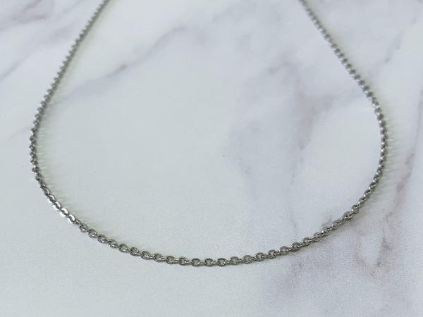 Long 72cm Petite Chain Silver