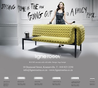 Ruche Large Settee