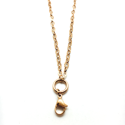 The Long Loopdidoo Chain (Rose Gold)