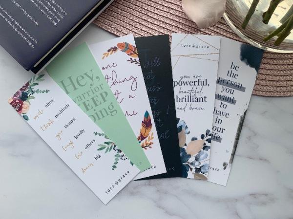 Inspo Bookmark - Today I will not stress