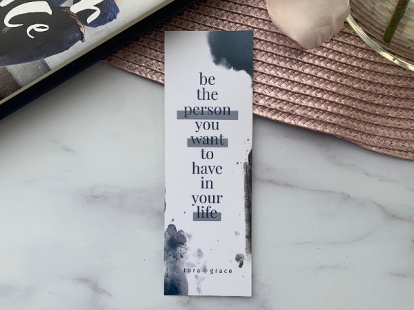 Inspo Bookmark - Be the person
