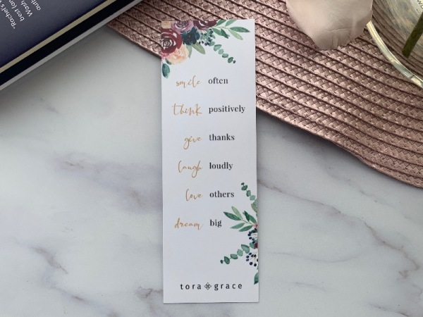 Inspo Bookmark - Smile Often