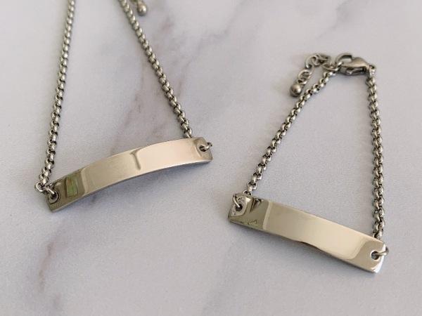 Mommy & Me ~ Silver Reminder Bracelet