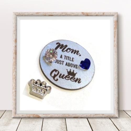 Mom, Queen Plate Set