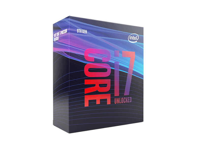 Intel i7-9700K 3.6GHz 8 Core Coffee Lake Refresh LGA1151 Socket 14nm Desktop Processor