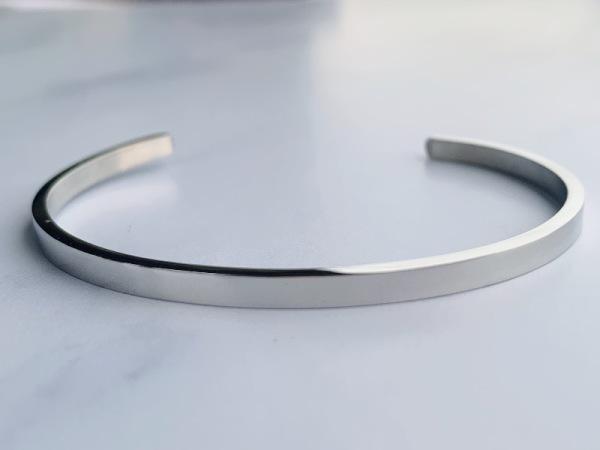 Silver Samsara Stories Bracelet