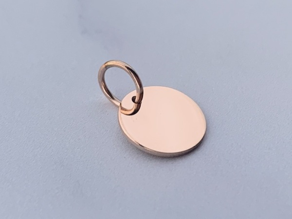 Round Petite Rose Gold  (10mm)