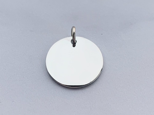Round Petite Silver (15mm)