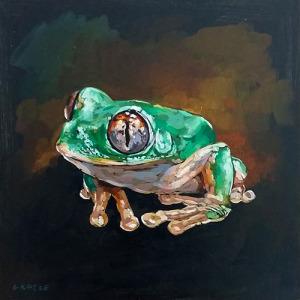 The sacred frog'