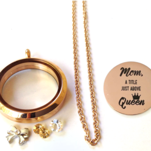 Mom, Queen - Rose Gold