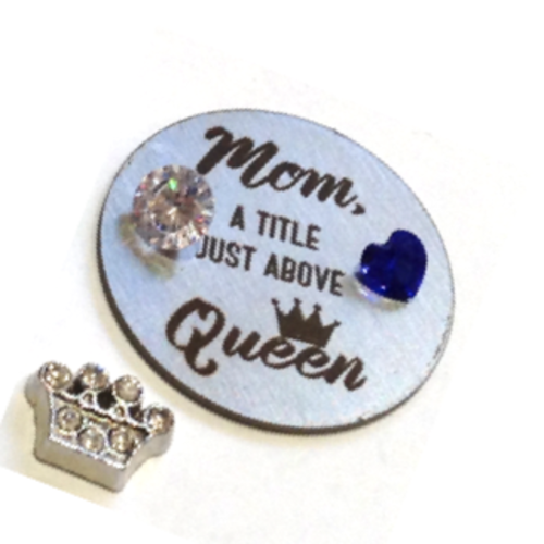 Mom, Queen Plate Set