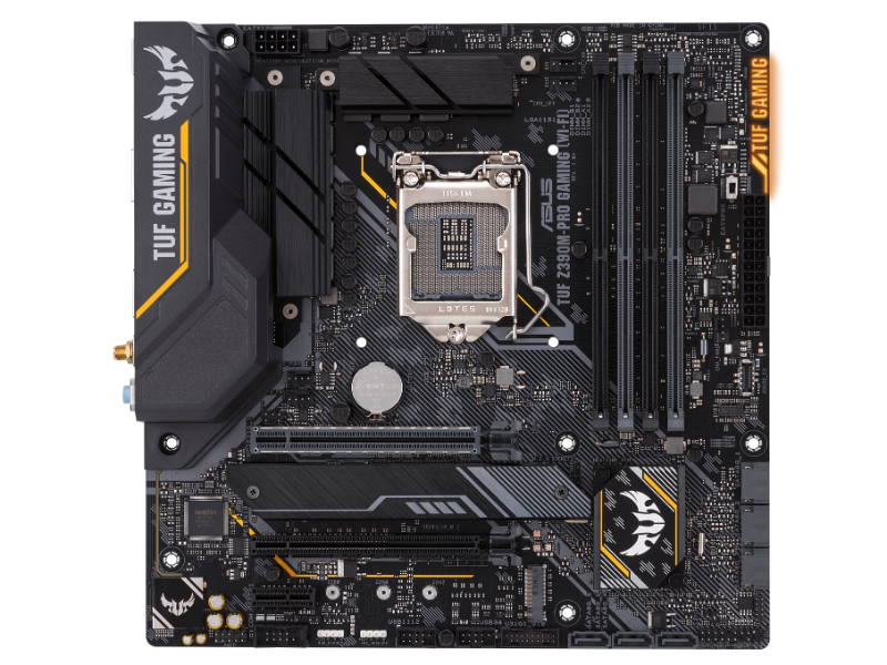 Asus TUF Z390M-Pro Gaming Wi-Fi Intel 1151 Socket Micro-ATX Desktop Motherboard