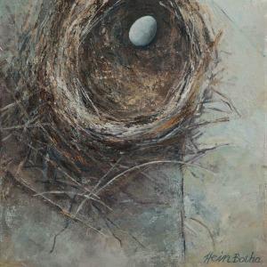 Single egg nest