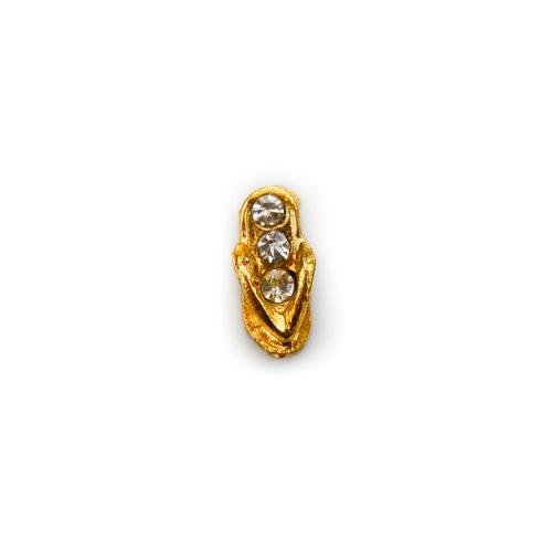 Gold Crystal Sandal