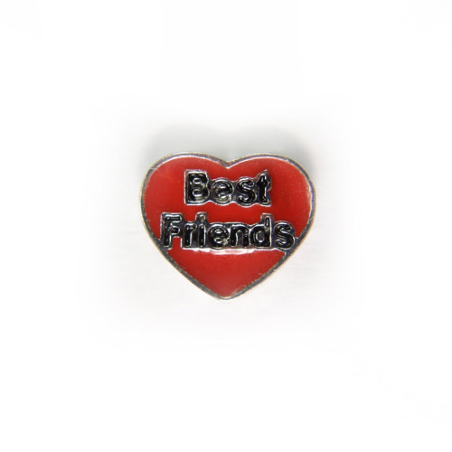 Best Friends Heart (Red)