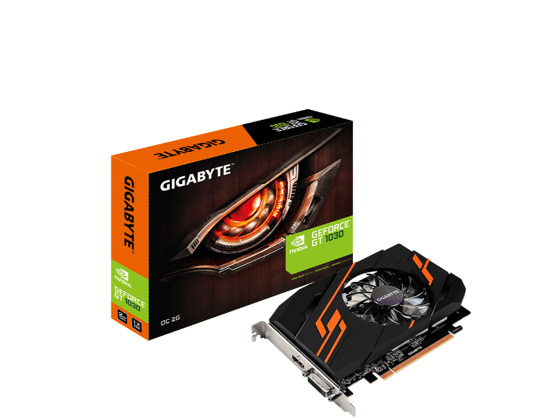 Gigabyte GT 1030 OC 2GB GDDR5 Graphics Card