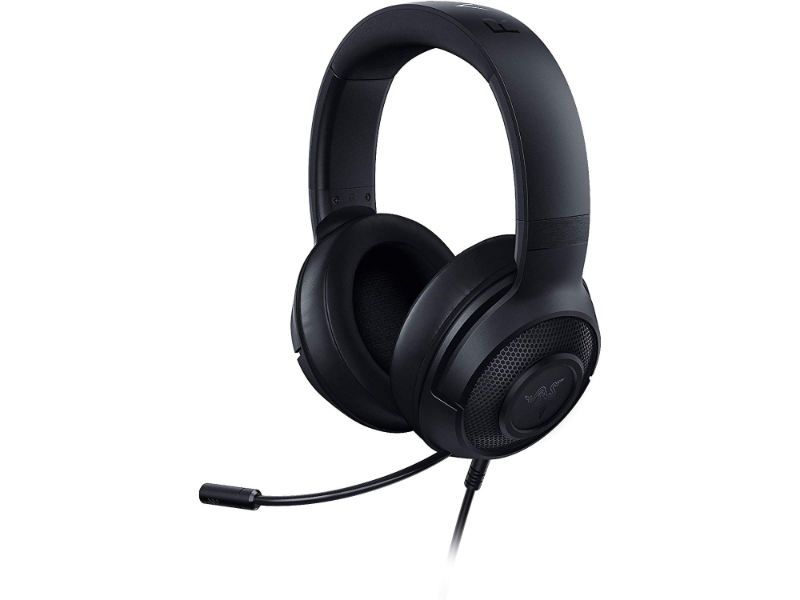 Razer Kraken X 7.1 Surround Sound Black Gaming Headset