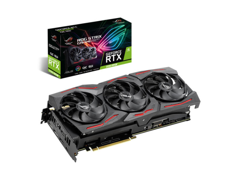 Asus ROG Strix GeForce® RTX 2080 SUPER™ OC Edition 8GB GDDR6 Graphics Card