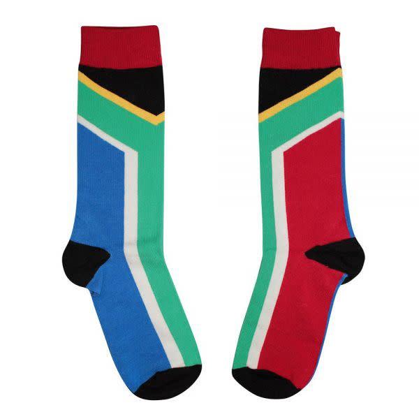SA Flag Socks (sizes 8 - 11)