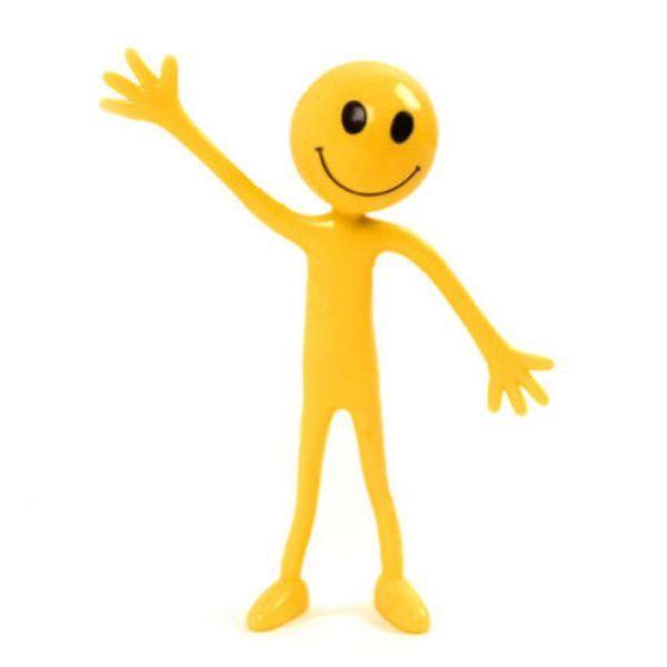 Bendy Smiley Man - small