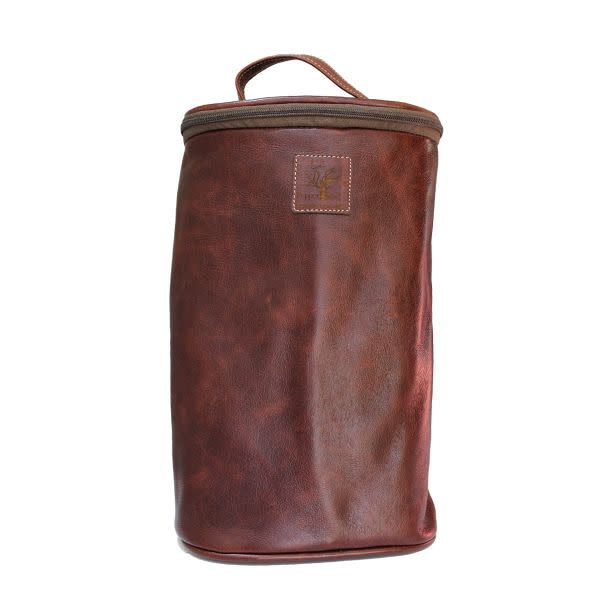 Leather Double Wine Cooler