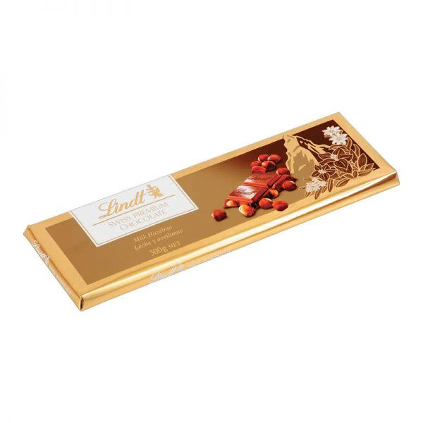 Lindt Swiss Premium Chocolate Slab (300g)
