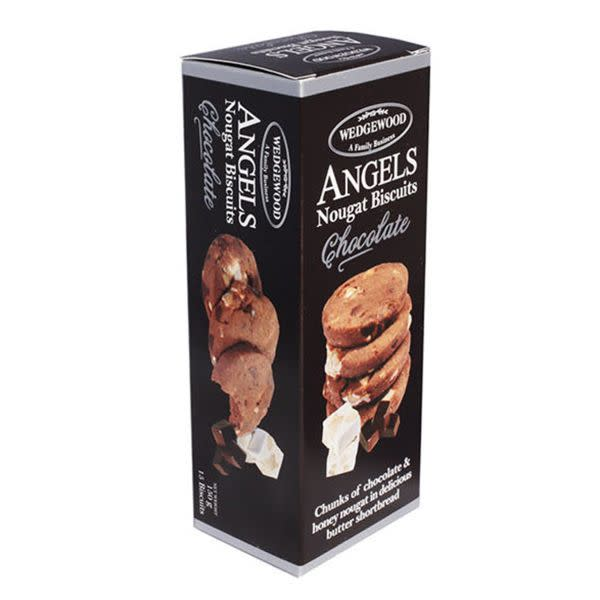 Wedgewood Angels Choc Nougat Biscuits (150g)