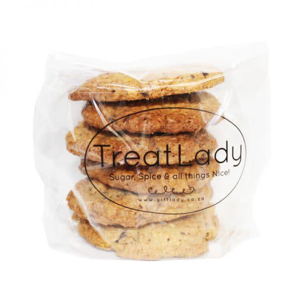 Peanut Butter Choc Chip Cookies (6 piece)