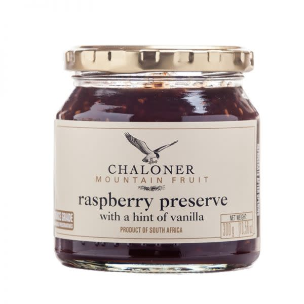 Chaloners Raspberry Preserve with a hint of vanilla (300g)