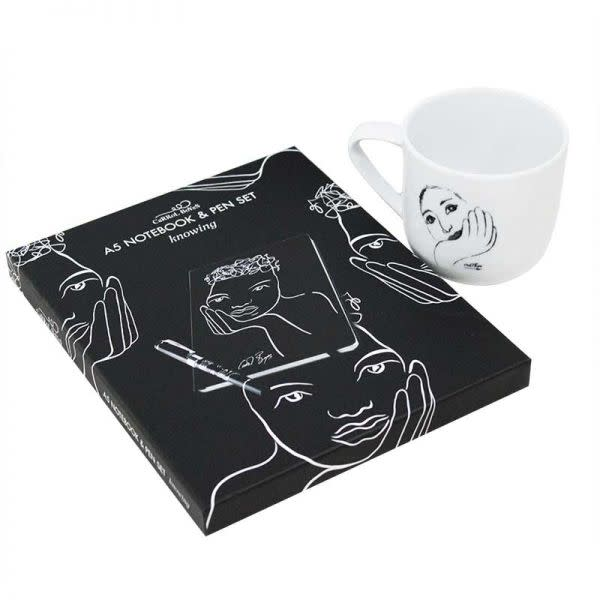 CaRRoL BoYeS Mug and Notebook Set