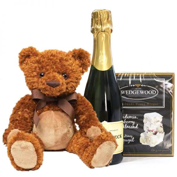 Champagne and Nougat Delight