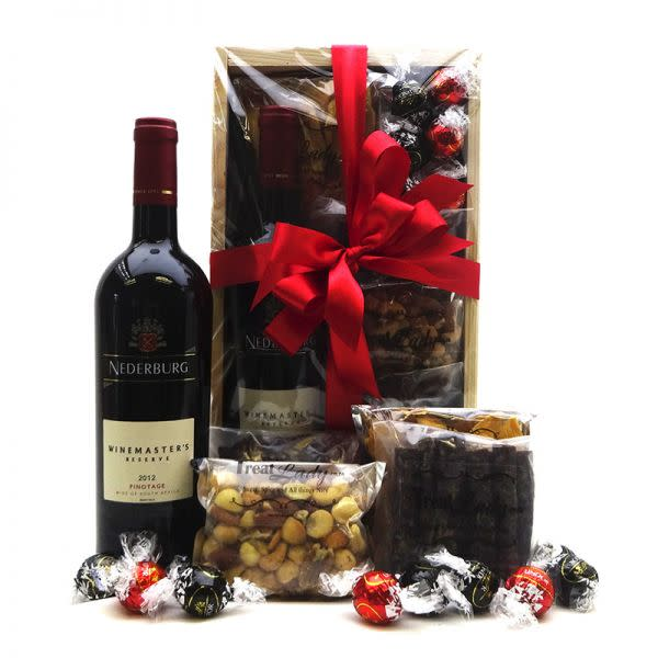 Wine and Treat Box