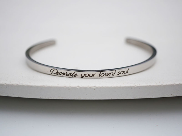 """Decorate your own soul"" Samsara Bracelet"