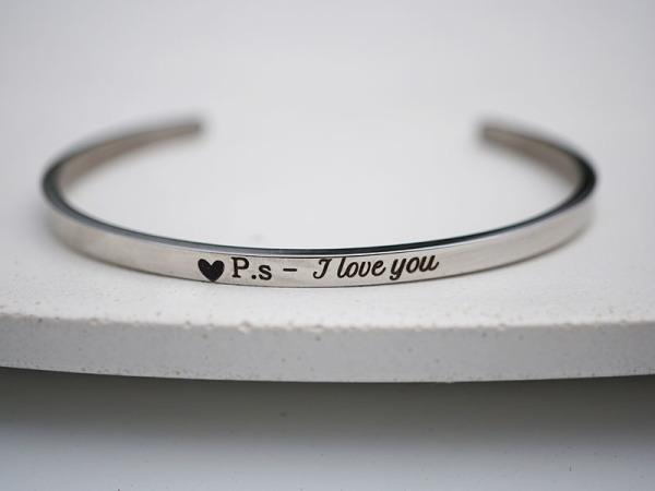 """"""" P.s - I love you"""" Samsara Bracelet"""