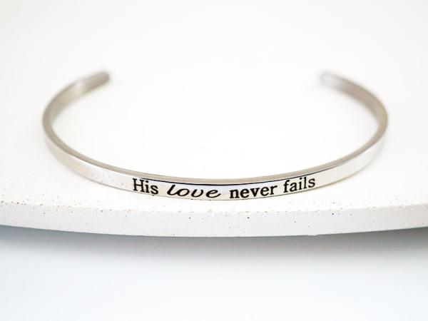 """""""His Love"""" Bracelet"""