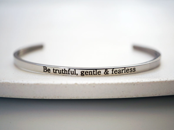 """Be Truthful"" Bracelet"