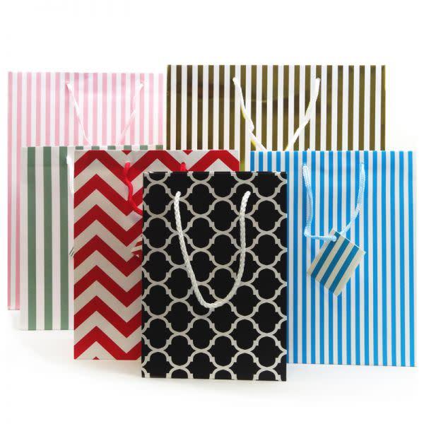 Gift Bag, card and ribbon